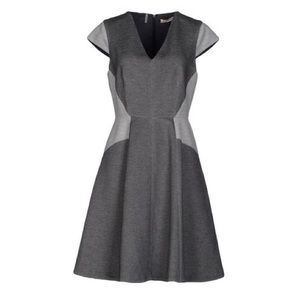 Rebecca Taylor Gray and Black Dress